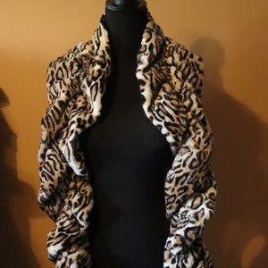 Leopard Print Cozy Soft Scarf